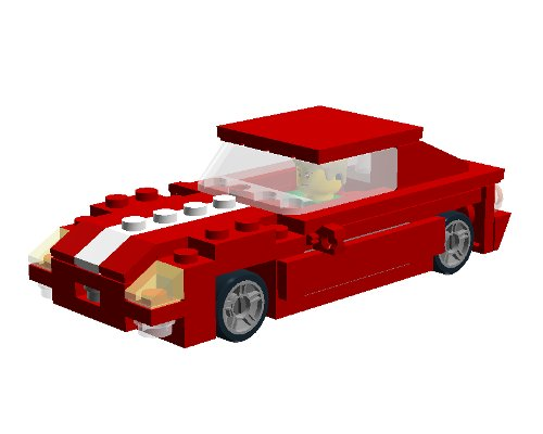 Ford GT Lego by Gianluca Natalizio